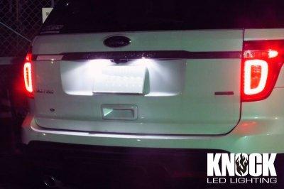 画像2: 11〜15 フォードエクスプローラー用ナンバー灯LEDバルブセット
