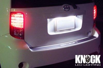 画像2: 08〜16 SCION xB用 ナンバー灯LEDバルブセット