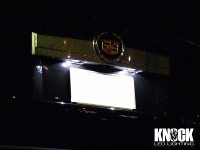 画像1: 07〜14 キャデラック エスカレード用 ナンバー灯LEDバルブセット ホワイト