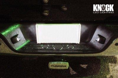 画像2: 07〜13 USトヨタ タンドラ用 ナンバー灯LEDセット ホワイト