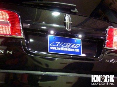 画像3: 07〜14 リンカーン ナビゲーター用 ナンバー灯LEDバルブセット ホワイト