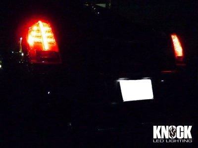 画像1: 11〜14 クライスラー300C用 ナンバー灯LEDバルブセット ホワイト