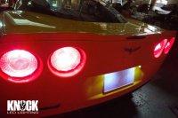 05〜14 シボレーコルベット用ナンバー灯LEDバルブセット ホワイト