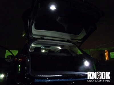 画像1: 09〜 INFINITI FX35用 トランクルーム用LEDバルブセット ホワイト
