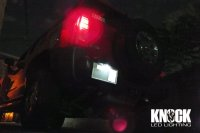 06〜 ハマーH3用 ナンバー灯LEDバルブ