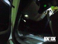 08〜 USトヨタ セコイア用 フットランプLEDバルブ ホワイト