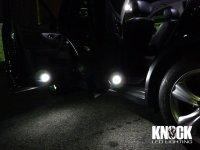09〜 INFINITI FX35用 ドアカーテシー用LEDバルブセット ホワイト