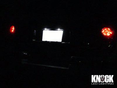 画像1: 02〜 シボレートレイルブレイザー用 ナンバー灯LEDセット ホワイト
