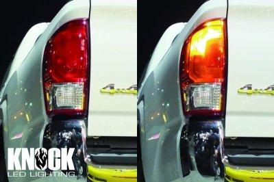 画像1: [魔法のLED] KNOCK T20 アンバー