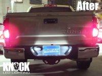 18〜  USトヨタ タンドラ用 ナンバー灯LEDバルブセット ホワイト