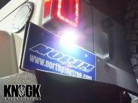 07〜18 クライスラージープ ラングラー アンリミテッド用 ナンバー灯LEDバルブセット